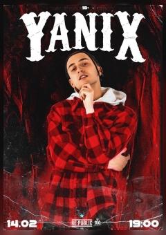 Концерт Yanix