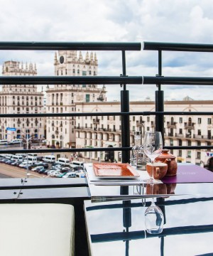 Кафе и рестораны Минска с видом на город